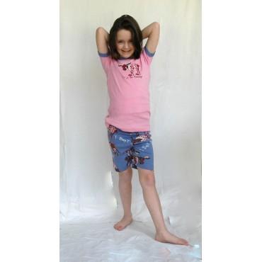 Carters - Boys Stripe Moose Microfleece Onesie Pyjamas