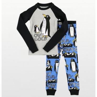 Carters – Girls Winter Print Microfleece Onesie Pyjamas