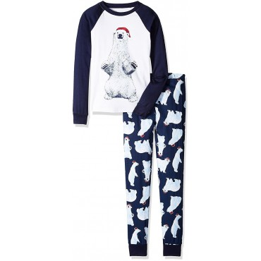 Boys - Polar Bear Pyjamas - 100% Cotton