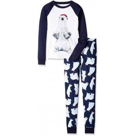 Boys - Polar Bear Pyjamas - 100% Cotton