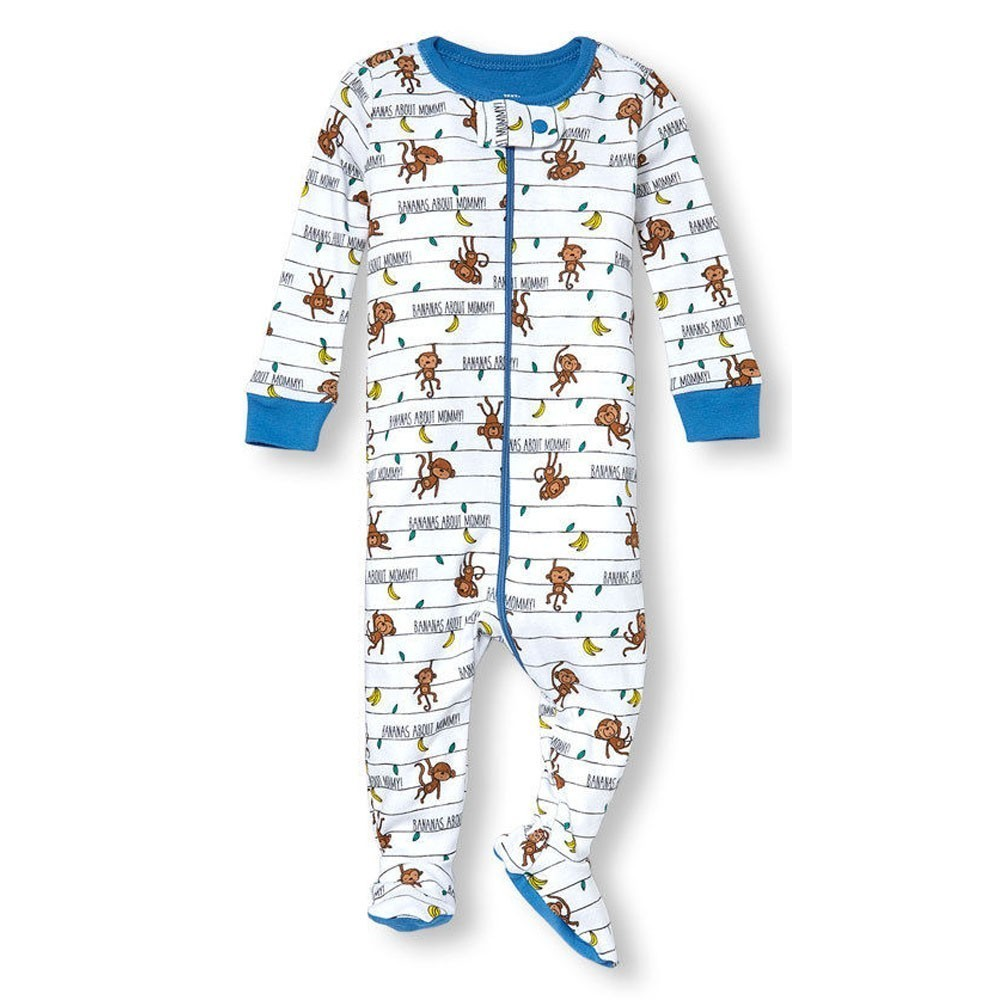 Children's Place - Boys Bananas for Mommy Cotton Onesie