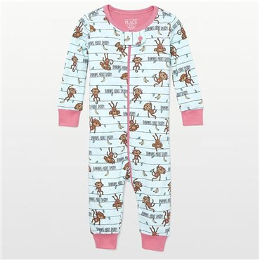 Childrens Place -  Girls Cotton Bananas About Daddy Onesie