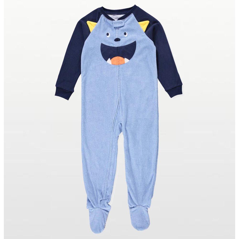 Carters - Boys Dump Truck Microfleece Onesie Pyjamas