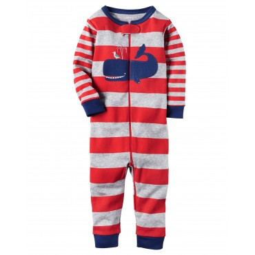 Carters - Boys Red Stripe...
