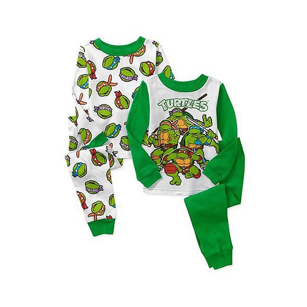 Boys Teenage Mutant Ninja Turtle Pyjamas - 4 Piece Set