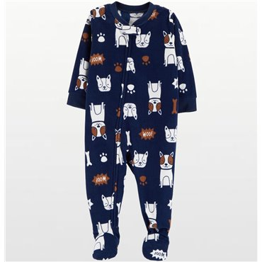 Carters - Boys Navy Dogs...