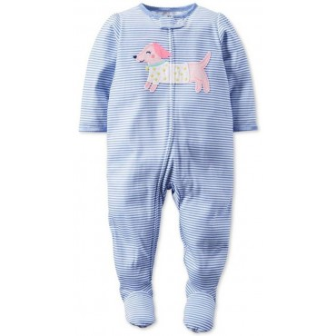 Carters - Girls Cotton Blue...