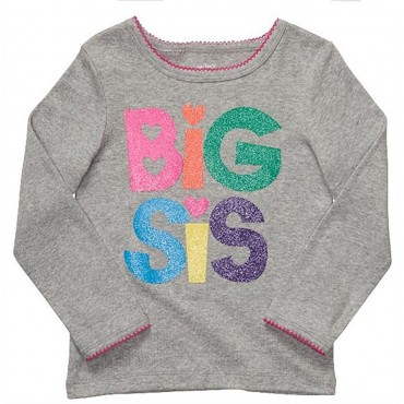 Carter's - Grey Big Sis T...