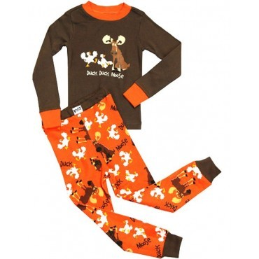 LazyOne - Brown Duck Duck Moose Pyjamas