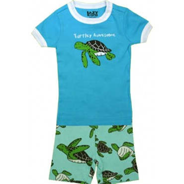 LazyOne - Boys Turtley Awesome Pyjamas