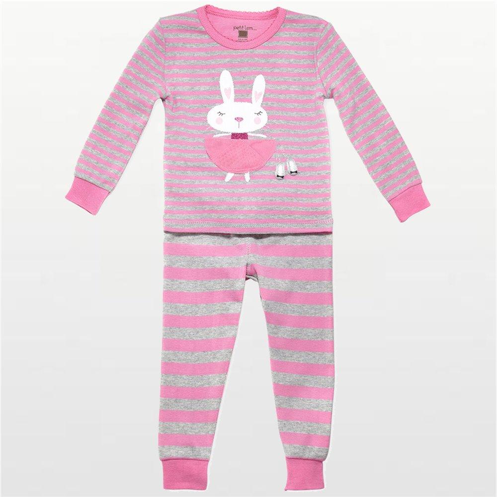 Petit Lem - Girls Bunny Ballerina Pyjamas