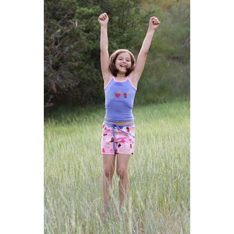 LazyOne - Tween Peace Love Moose Pyjamas