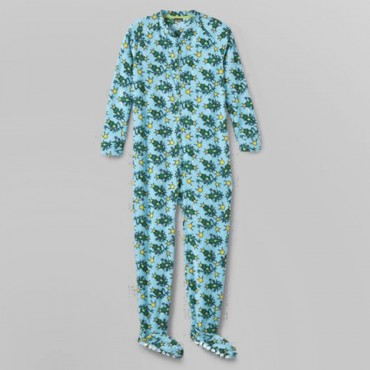 Fleece Footed Pyjamas Onesie - Frog Princess
