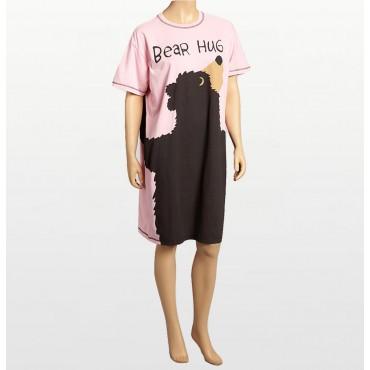 Blue Leo Angel Fleece Hooded Footed Pyjamas