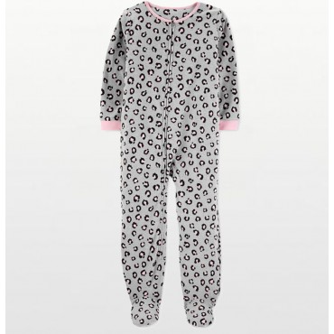 Adult - Fleece Onesie - Outer Space Print with Drop Seat