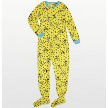 Nickelodeon -  SpongeBob SquarePants Footed Pyjamas