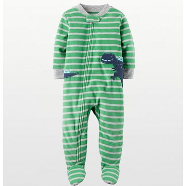 Boys – Sports Print Fleece Onesie Pyjamas