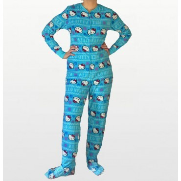 Hello Kitty - Blue Fleece...
