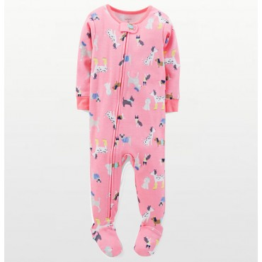 Carters - Girls Cotton Pink...