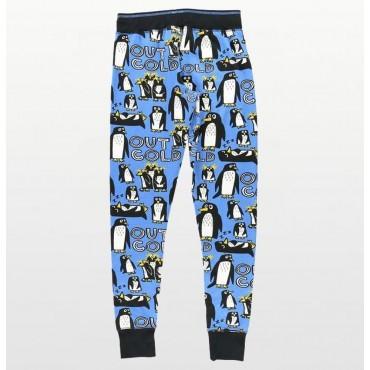 Cotton Footed Onesie Pyjamas - Turquoise