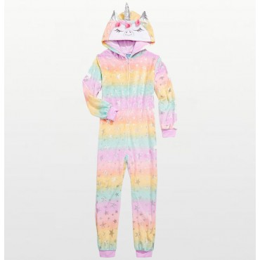 Fleece Footed Pyjamas Onesie - Sheep