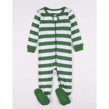 Leveret - Baby Green Stripe...