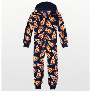 Boys - Blue Pizza Fleece...