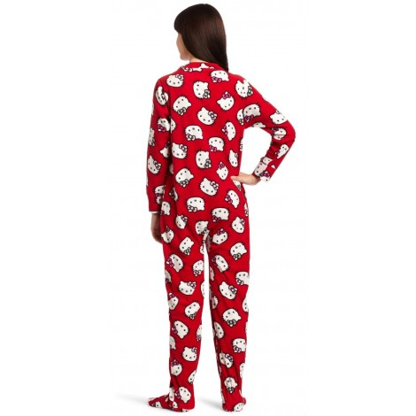 Hello Kitty - Red Footed Onesie