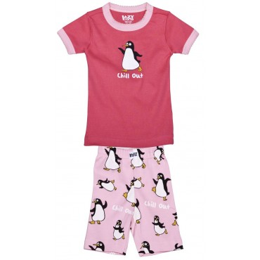 LazyOne - Girls Penguin Chill Out Pyjamas