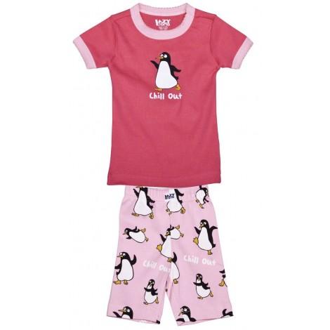 LazyOne - Girls Penguin Chill Out Pyjamas