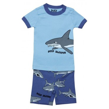 LazyOne - Boys Shark Deep Sleeper Pyjamas