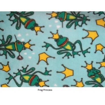 Fleece Footed Pyjamas Onesie - Frog Princess
