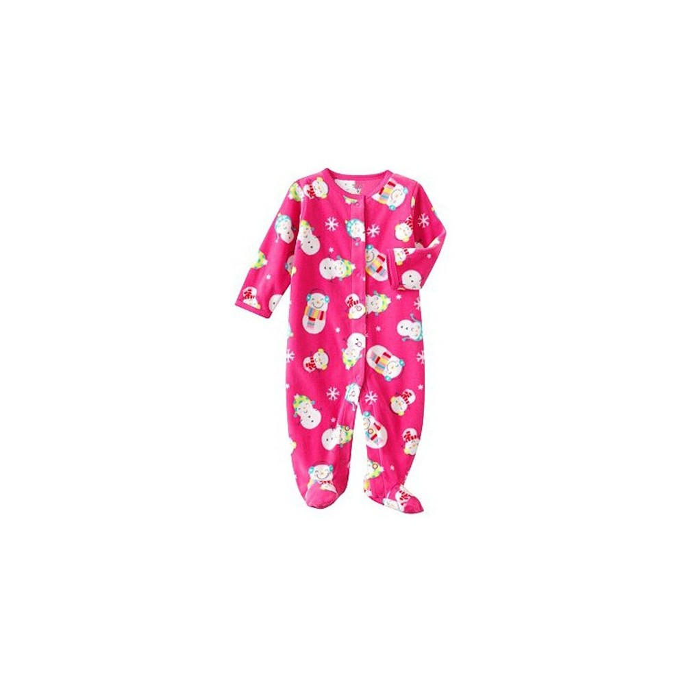 Carter's - Snowman Microfleece Sleep & Play - Baby