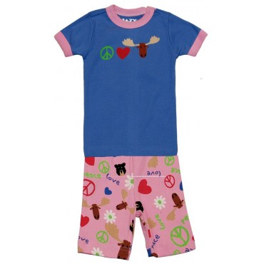 LazyOne - Girls  Peace and Love Pyjamas