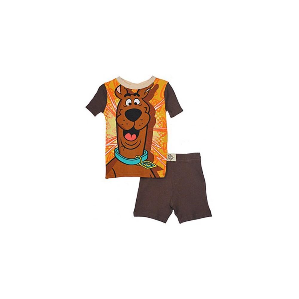 Boys Scooby Doo Pyjamas - 100% Cotton