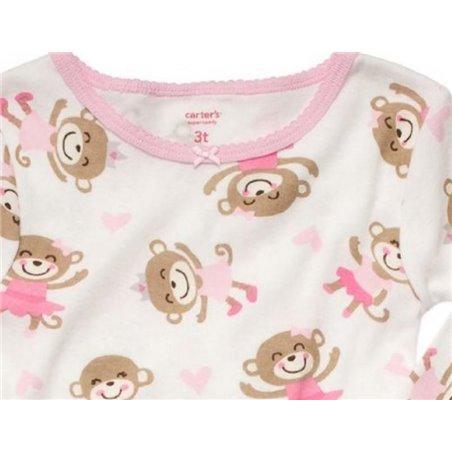 Boys - Music Print Fleece Onesie Pyjamas