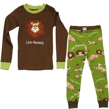 LazyOne - Lion Around 100% Cotton Pyjamas