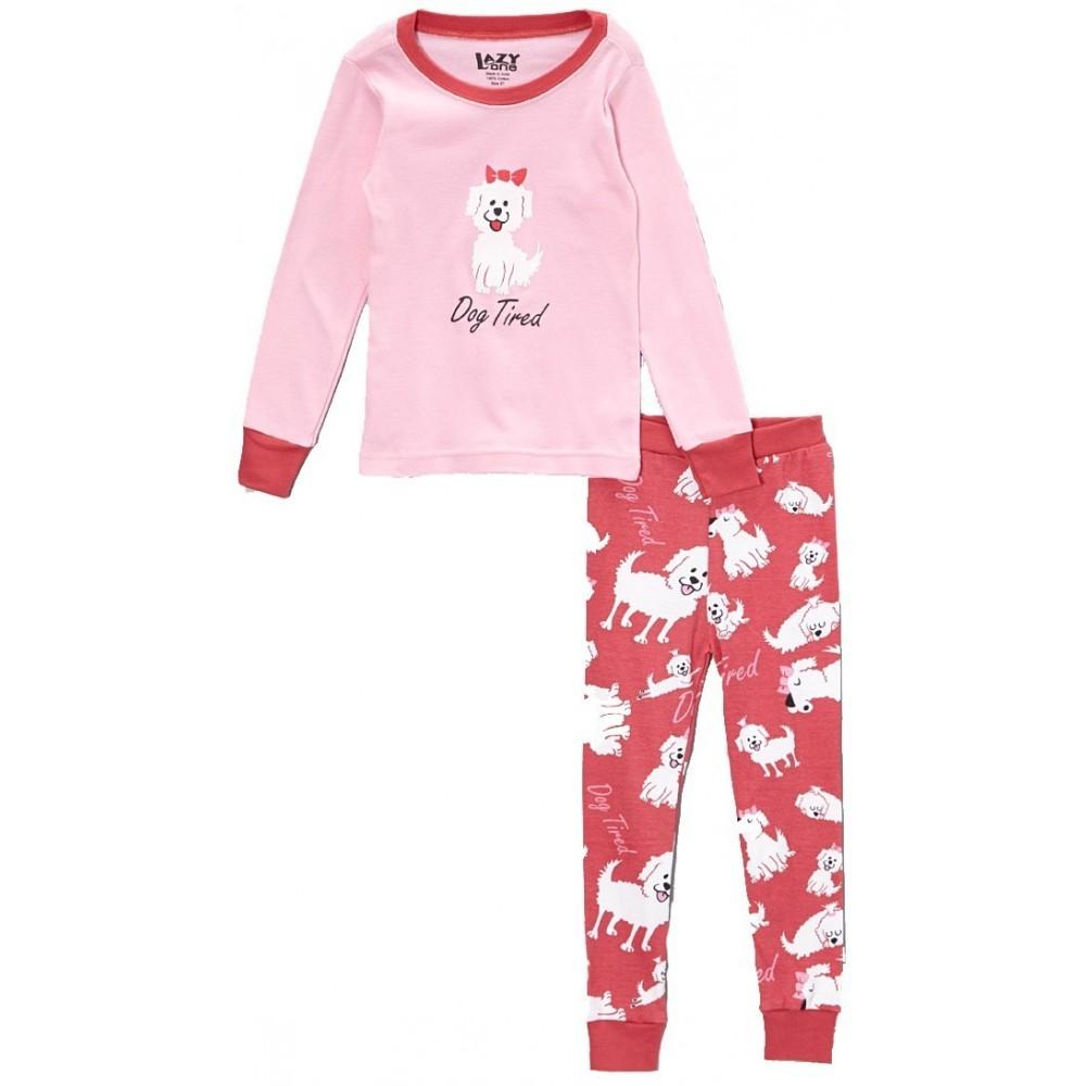 LazyOne - Dog Tired 100% Cotton Pyjamas