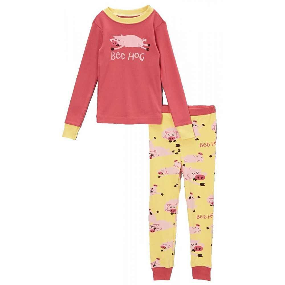 LazyOne - Girls Bed Hog 100% Cotton Pyjamas