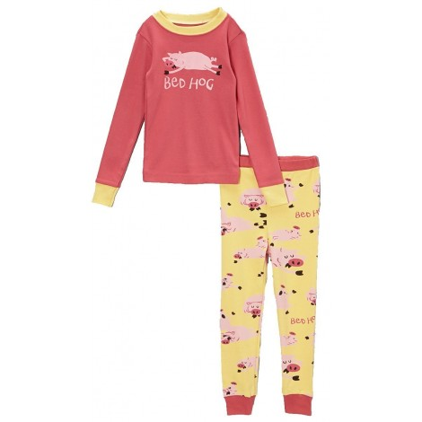 LazyOne - Girls Bed Hog 100% Cotton Pyjamas