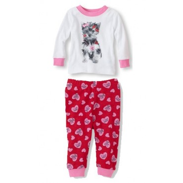 Childrens Place - Puppy Love Pyjamas