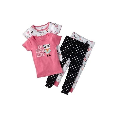 Carters - 4 piece Cotton Pyjamas - I'm Snow Cute