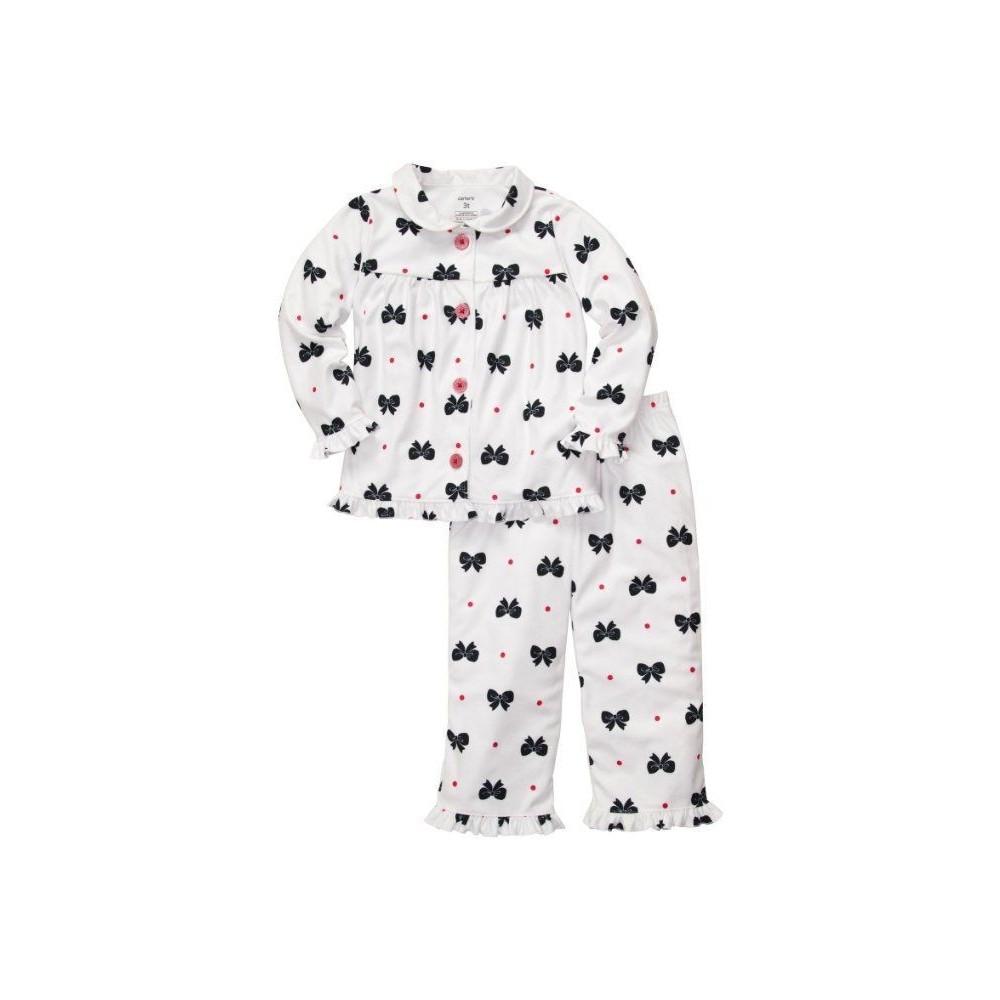 Carter's - Girls 2 piece Cotton Pyjamas - Bows