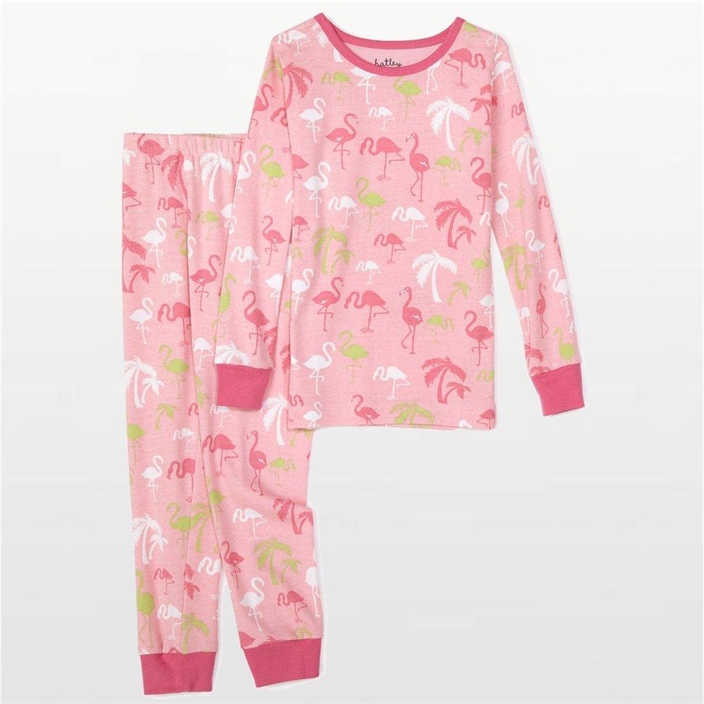 Hatley Kids - Girls Pink Flamingo Pyjamas