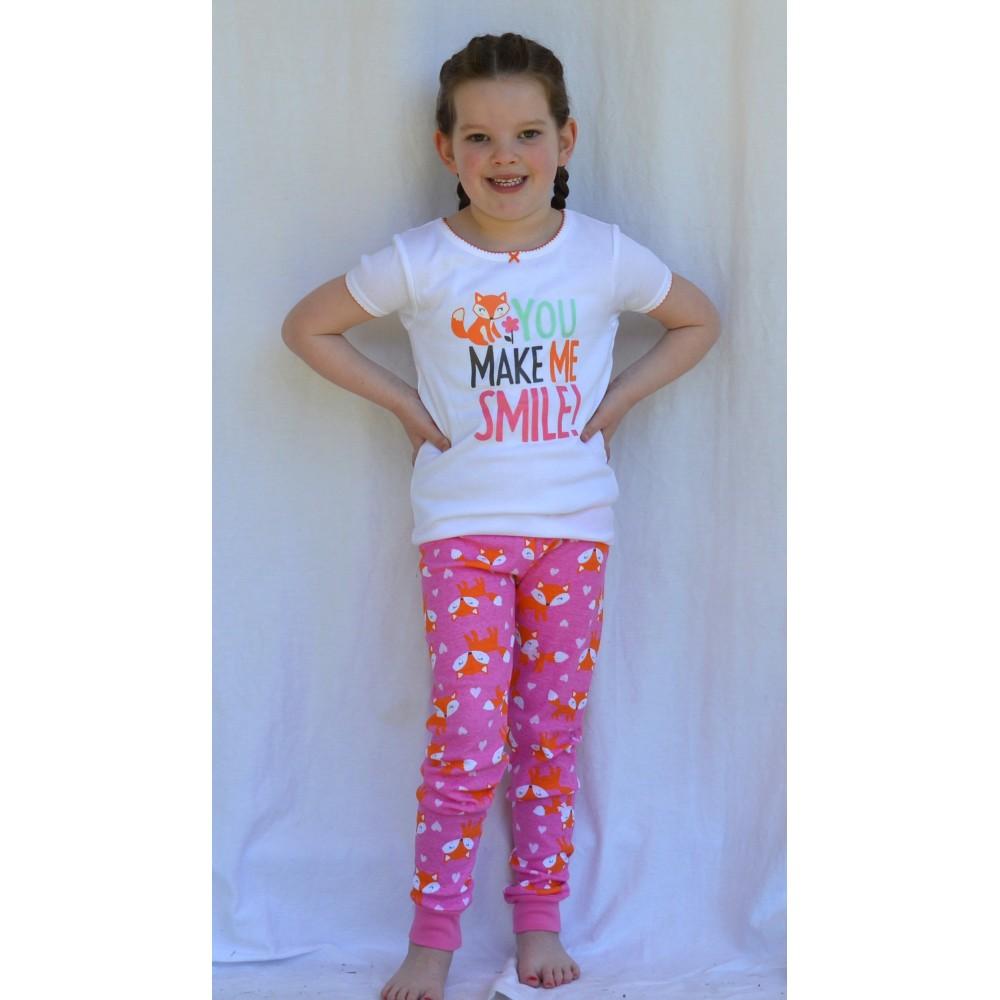 Carters - 3 piece Cotton Pyjamas - You make me smile