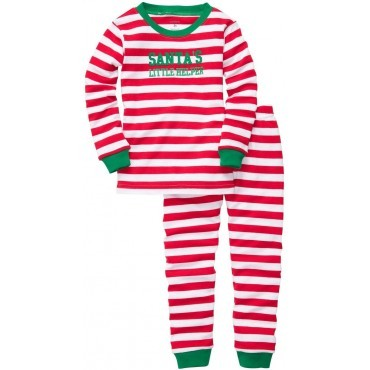 Carter's - 2 piece Cotton Pyjamas - Santa's Little Helper