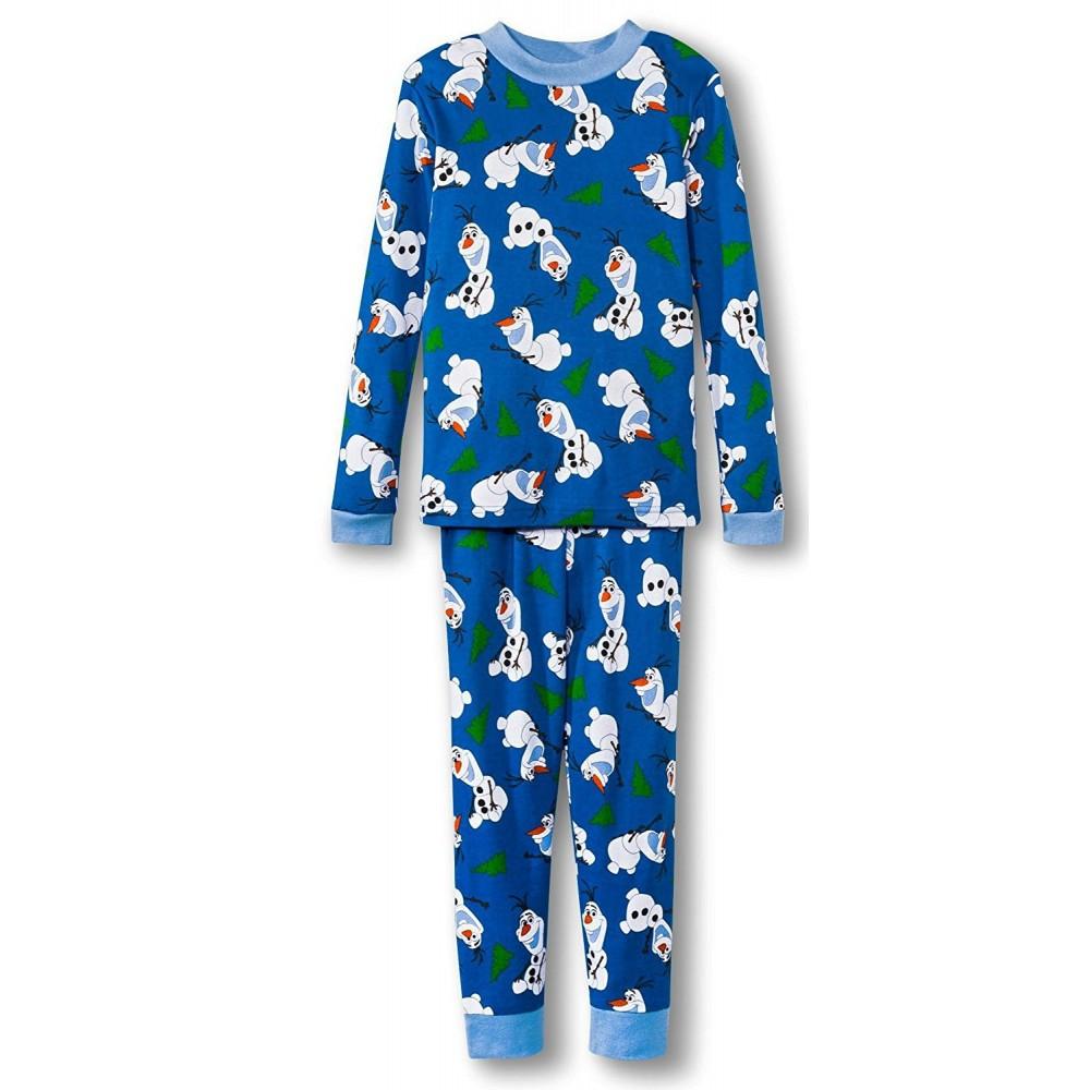 Boys - Frozen Olaf  Pyjamas 100% Cotton - 4 piece set