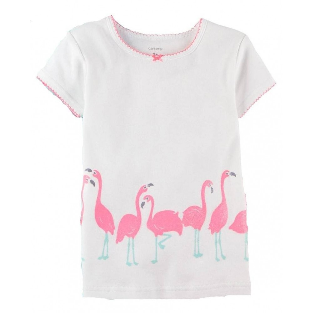 Carter's - 3 piece Cotton Pyjamas - Flamingo