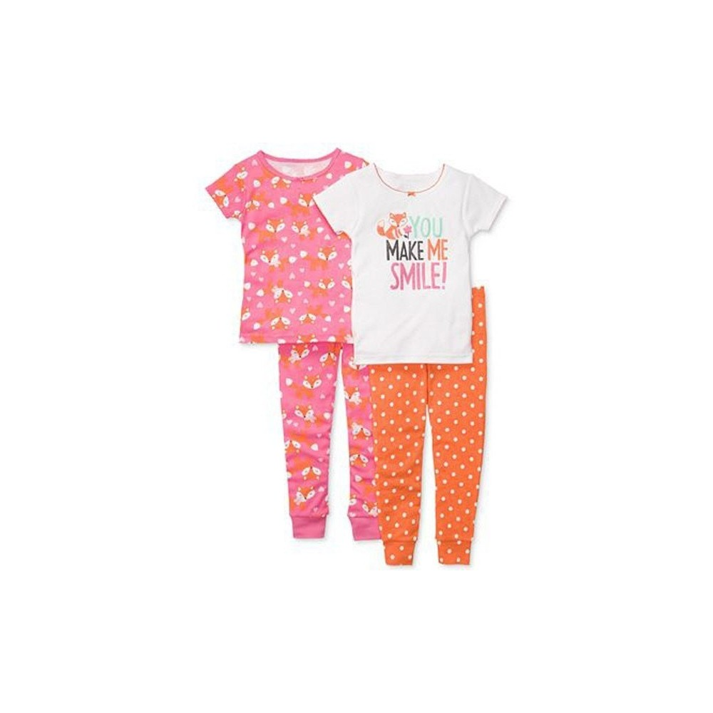 Carters - 4 piece Cotton Pyjamas - You make me smile