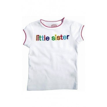 Carter's - White Little Sister T Shirt